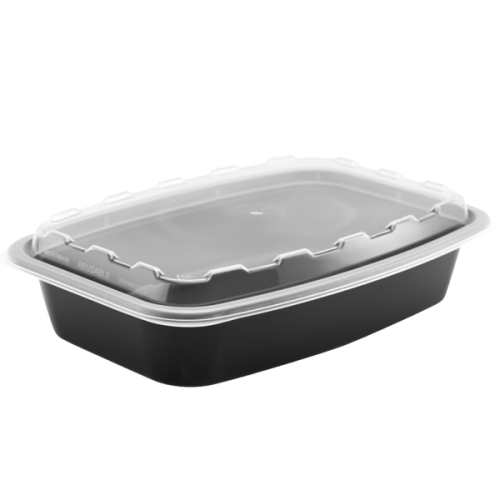 Snap Pak 28 oz Rectangular Meal Prep / Food Storage Container