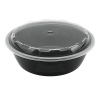 Snap Pak 24 oz Round Meal Prep / Food Storage Container