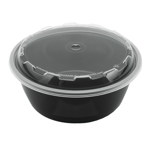 Snap Pak 32 oz Round Meal Prep / Food Storage Container