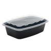 Snap Pak 38 oz Rectangle Meal Prep / Food Storage Container