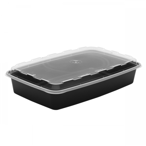 Snap Pak 48oz Square Meal Prep / Food Storage Container