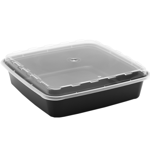 Snap Pak 48 oz Square Meal Prep / Food Storage Container