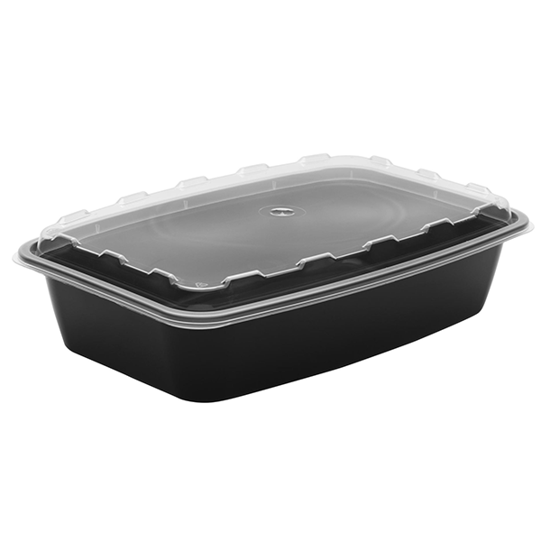 Snap Pak 56 oz Rectangle Meal Prep / Food Storage Container