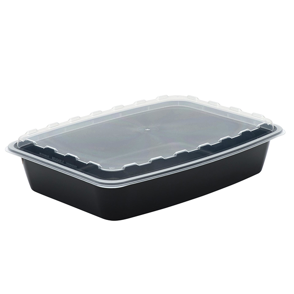 Snap Pak 84oz Rectangle Meal Prep / Food Storage Container
