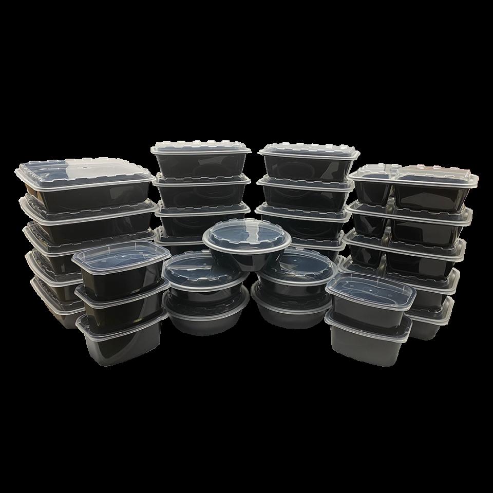 Snap Pak Variety Meal Prep Kit 30 Pack